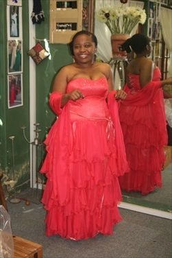 The Lady in Red. Matric July 2013