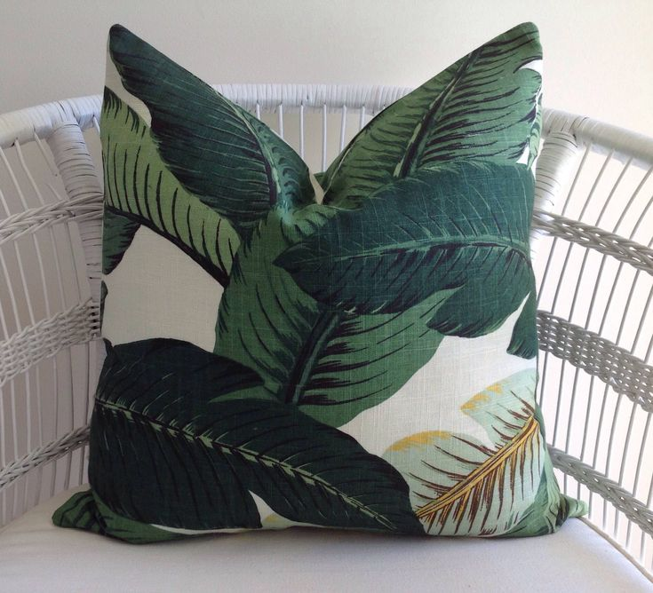 A personal favourite from my Etsy shop https://www.etsy.com/au/listing/587320681/tommy-bahama-palms-linenrayon-cushion