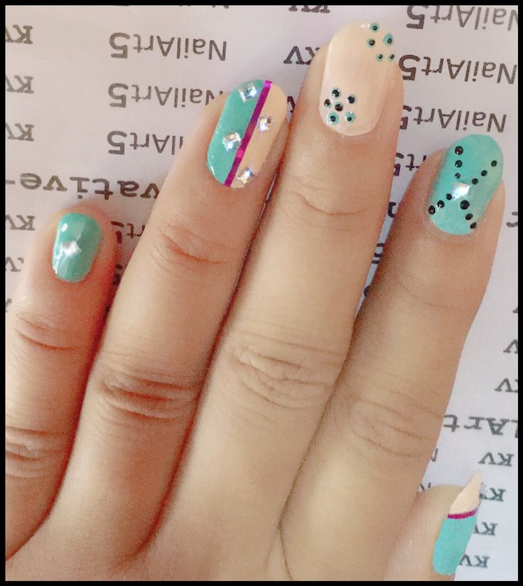 Hi haloo  everyone... Here is Nail Art 'Mixedmedia-dotting, Striping nail tape & crystal rhinestones ' .  Jus ignore my phone camera flash problem. Plz Like . Feel free to Share . Thanks . #nailart5 #nails #polish #nailpolish #realnails #naildotting #lovenailart #nailartaddict #nails2inspire #ilovenailart #nailart #nailartdesign #nailstripingtape #❤️ .