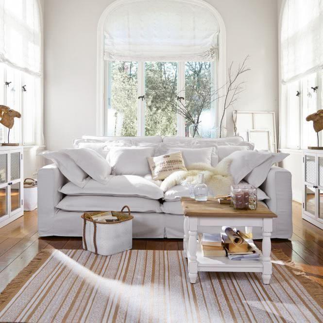 Sofa Terrell In Weiß Wirkt Luftig Und Freundlich Dazu Passt