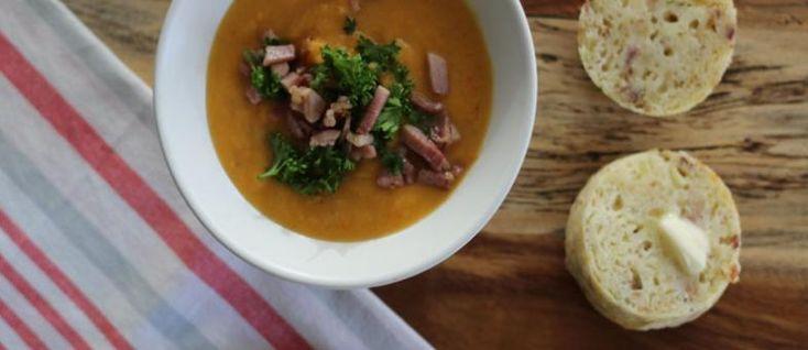 Grimm's Festive Ham & Sweet Potato Soup