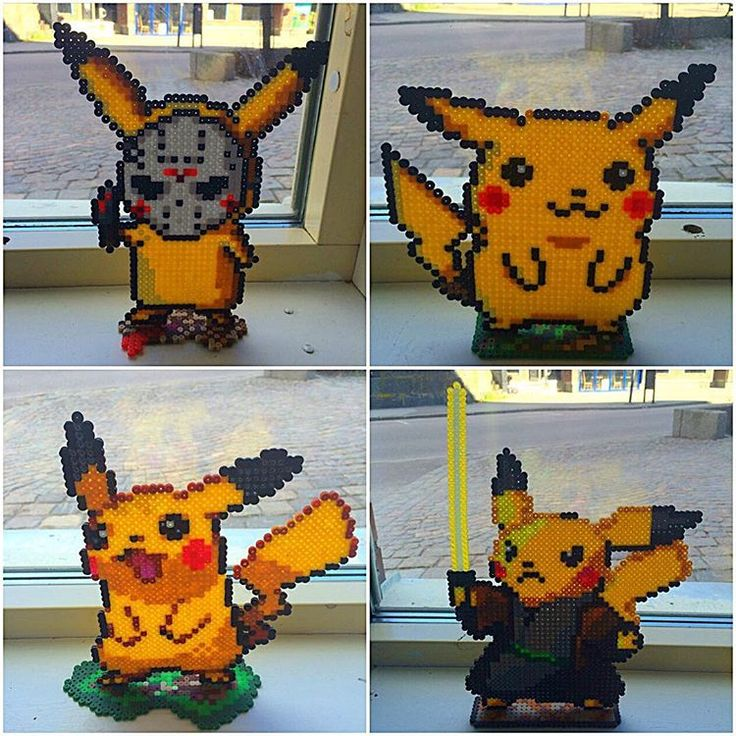 128 Best Images About Pikachu On Pinterest Perler Bead