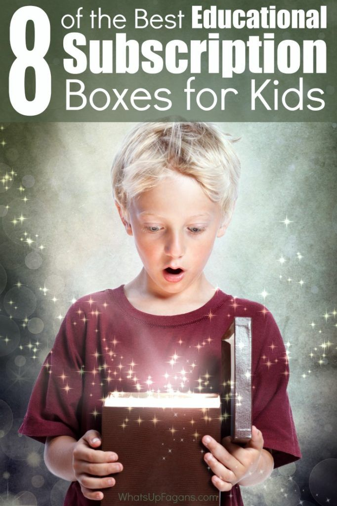 Great list of fun educational subscription boxes for kids. Children love receiving mail, so why not gift them something they can learn from too! Perfect for homeschooling families.