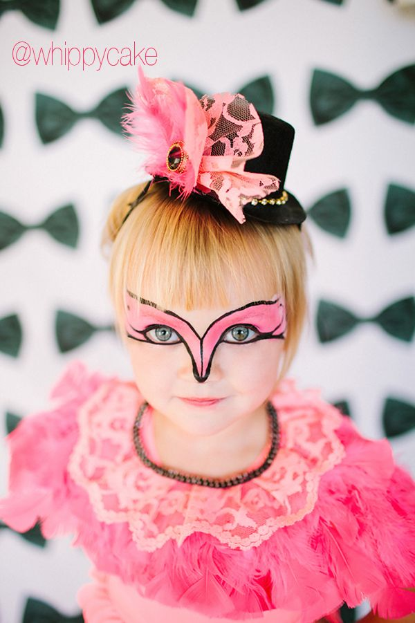 whippy halloween 2014 Flamingo Collar DIY