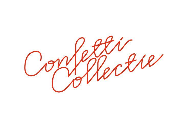 Simons en Boom: Logo Minouche & Rune - Confetti Collectie