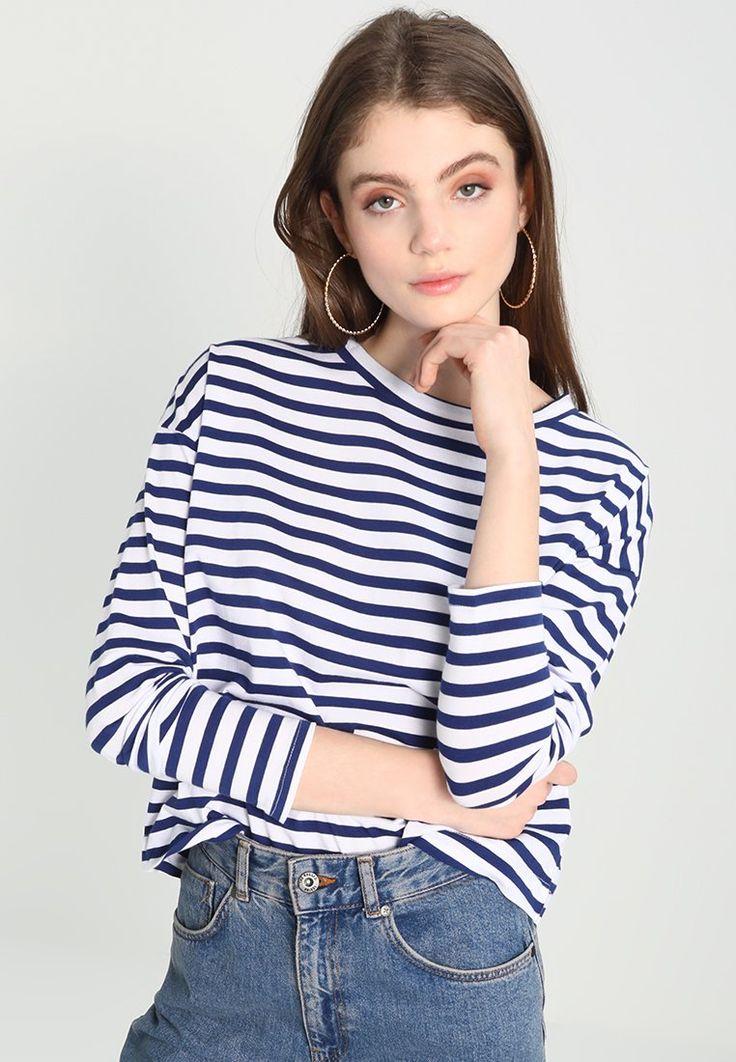 Gina Tricot ANNIE - Camiseta manga larga - blue - Zalando.es