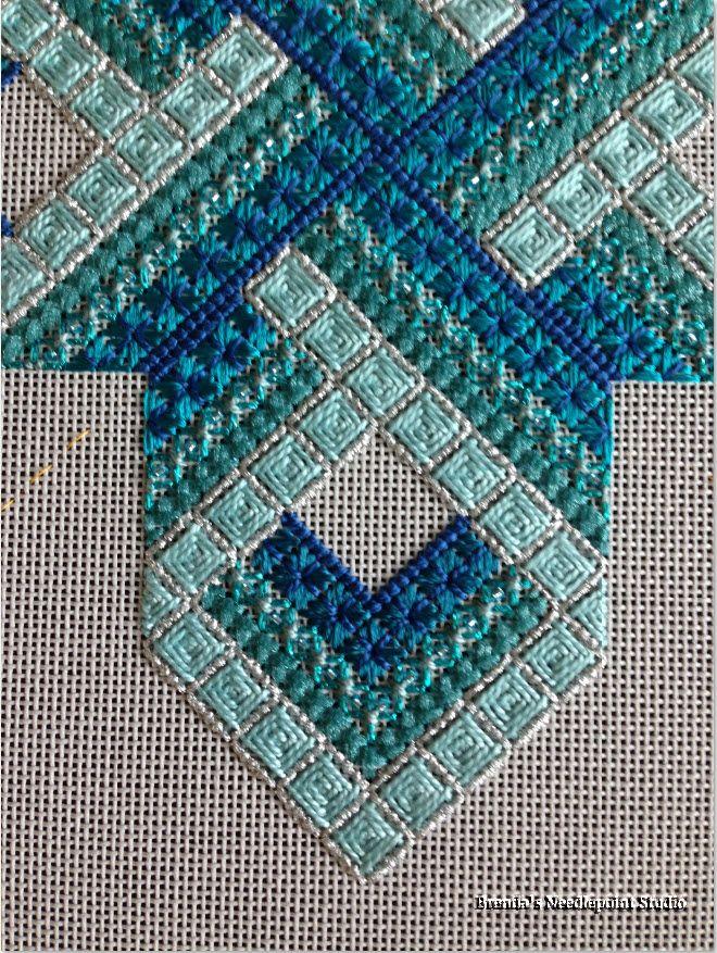 Brenda's Needlepoint Studio: Gordian Knot Updated 3/2/14