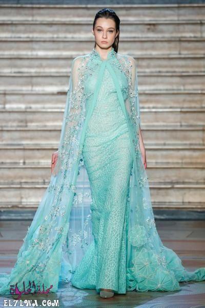 اجمل فساتين سهرة 2021 موديلات فساتين سهرة موضة 2021 قد م المصممون مجموعة من أجمل فساتين سهرة لعام ٢٠٢١ مزينة بالتر Fashion Beautiful Evening Dresses Fab Dress