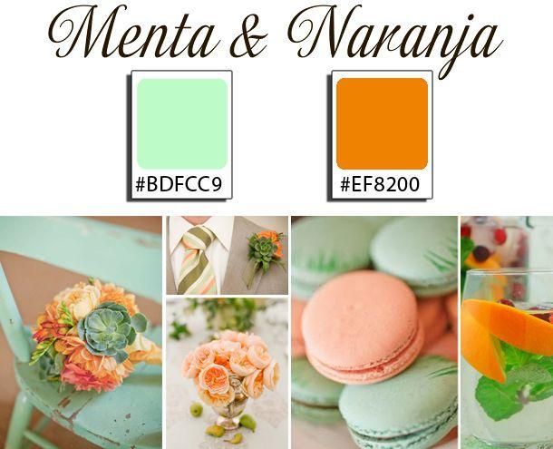 Tendencias de Bodas color menta, propuestas 2013