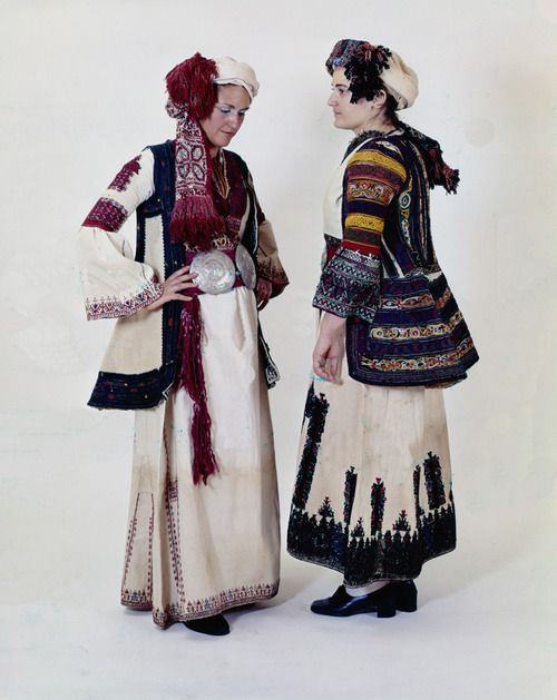 Ensembles Early 20th Century Corinthia, Peloponnese, Greece