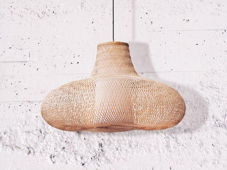 Storie présente les suspensions design en bambou par Ay Illuminate.