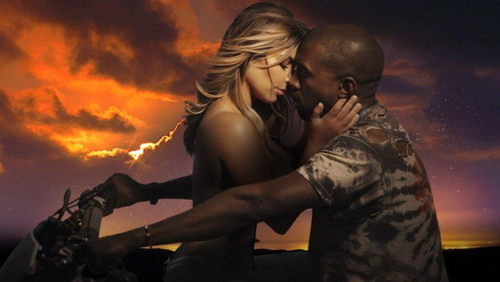 Pin for Later: 27 Celebrity Couples Who Flaunted Their Love in Music Videos Kanye West and Kim Kardashian