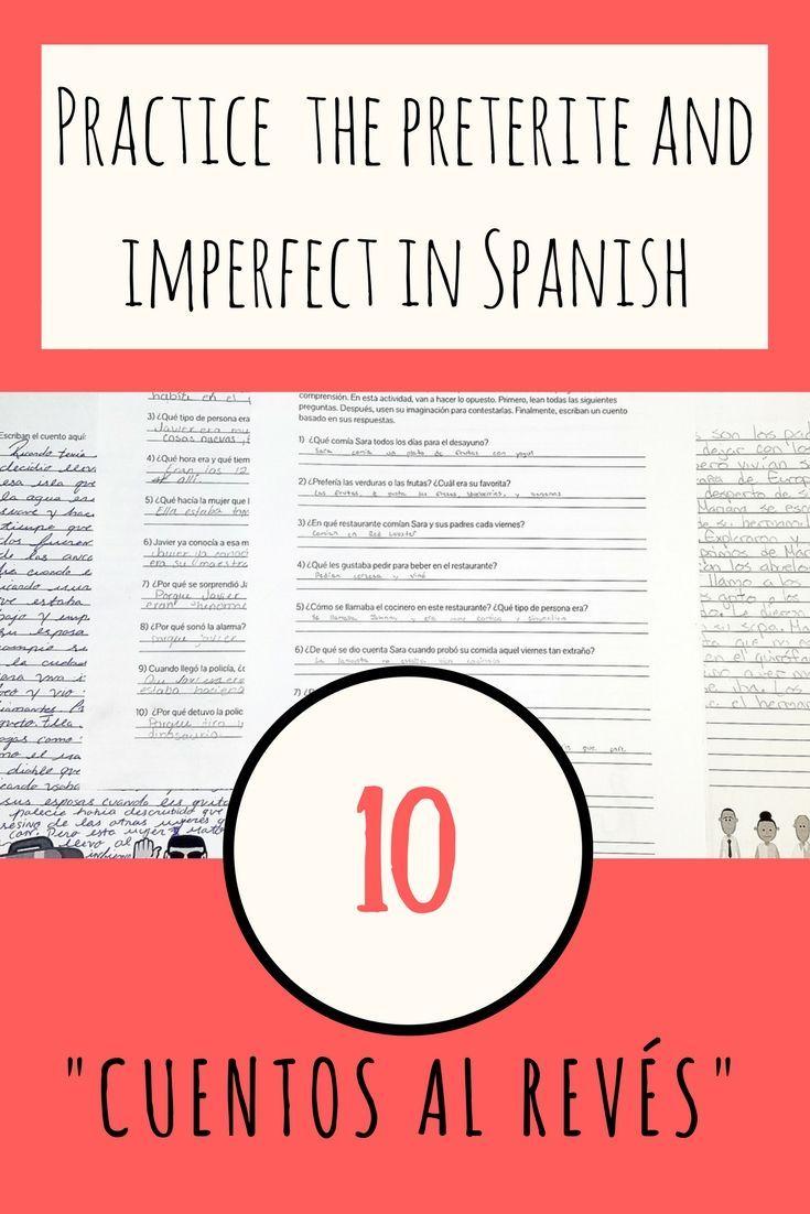 1373 best spanish high school lesson plans images on pinterest bundle el pretrito y el imperfecto 10 cuentos al revs 1betcityfo Images