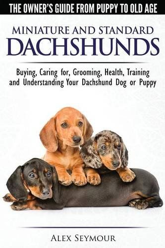 Expert dog whisperer and trainer, Alex Seymour, writes in a fun and entertaining way about Dachshunds while 40 expert breeders were actively involved in making contributions. You will literally find this book packed full of useful quotes giving advice and tips from the world's top Dachshund breeders.
