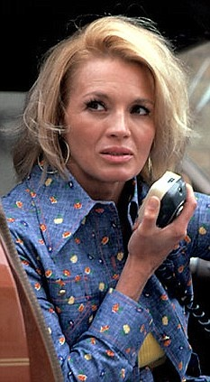 Pepper Anderson is Police Woman ... Angie Dickinson. Birthday today , September 30 !