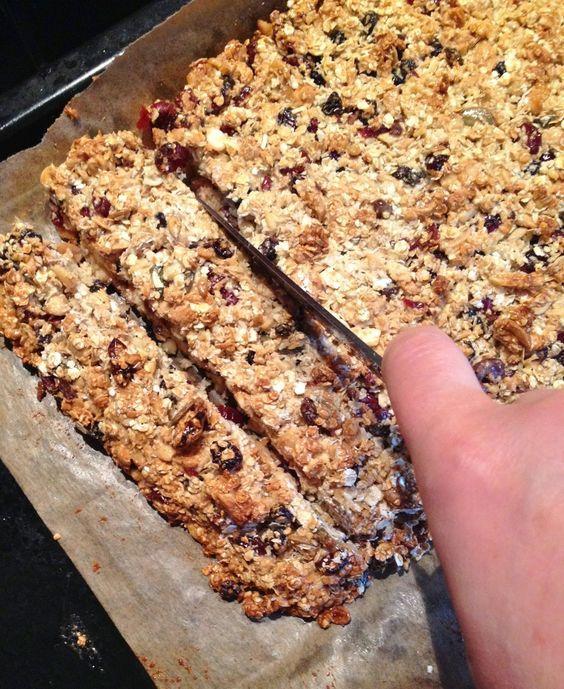 Havermout bar > een gezond, snel en heerlijk ontbijt