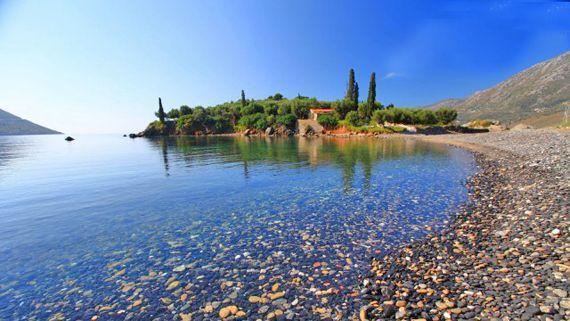 Kotronas beach, Mani, Greece   Mani Voice