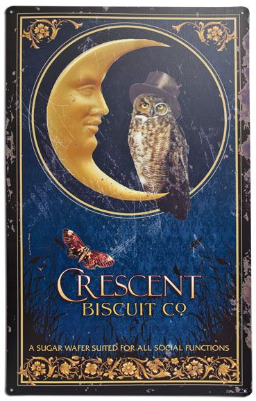 Crescent Biscuit Company Sign - Kruenpeeper Creek Country Gifts