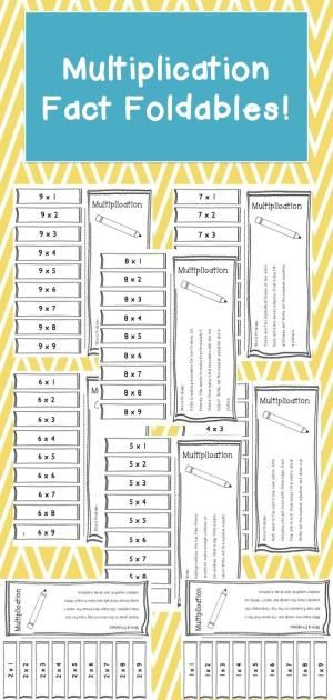 Great foldable to help students learn their multiplication facts. The students will also have a chance to use multiplication by answering a word problem. by sandy