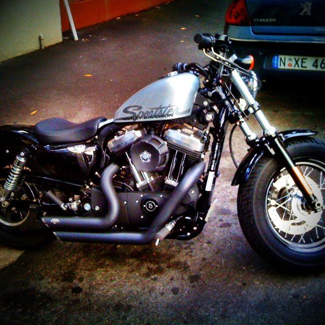 Classic Harley Sportster
