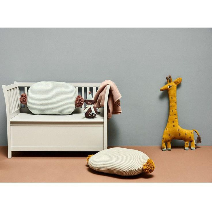 Oyoy Giraffe Noah Kissen Gelb/Schwarz,Kissen, Oyoy - SNOWFLAKE kindermöbel concept store