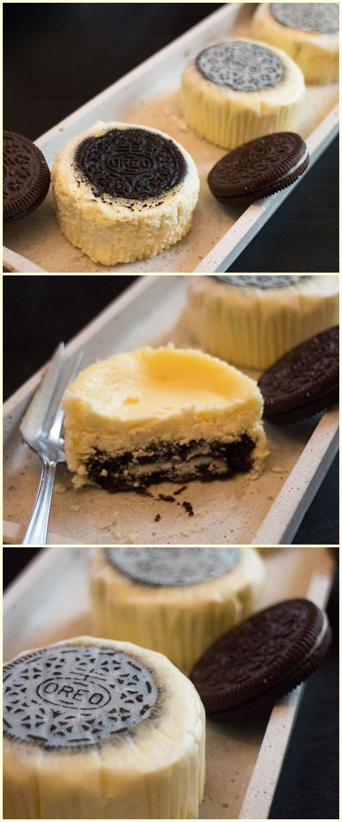Mini Oreo New York Cheesecakes