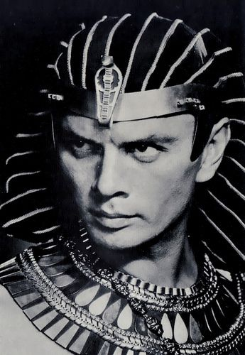 I love this movie... Yul Brynner as Rameses II - 1956 - The Ten Commandments - Directed by Cecil B. DeMille