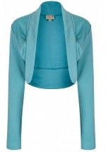 Lindy Bop soft and warm bolero with long sleeves in a lovely colour.