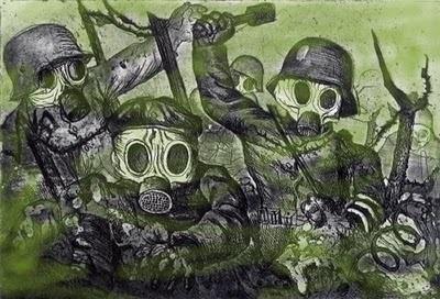 Otto Dix, The War Series, etching, martingodin.blogspot.com