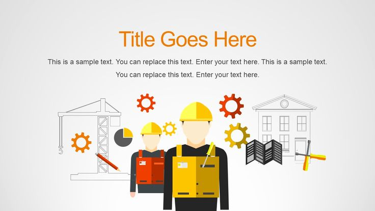Construction Powerpoint Template Free Powerpoint Templates Download Free Powerpoint Presentations Powerpoint Slide Designs