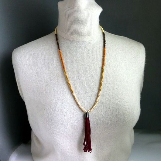 Wisior  w stylu Boho. Prosty a fantastyczny :). Modny / Pendant in the style of Boho. Simple and fantastic :). Fashionable /