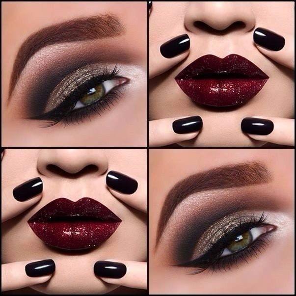 Отличный вечерний макияж для любого цвета глаз