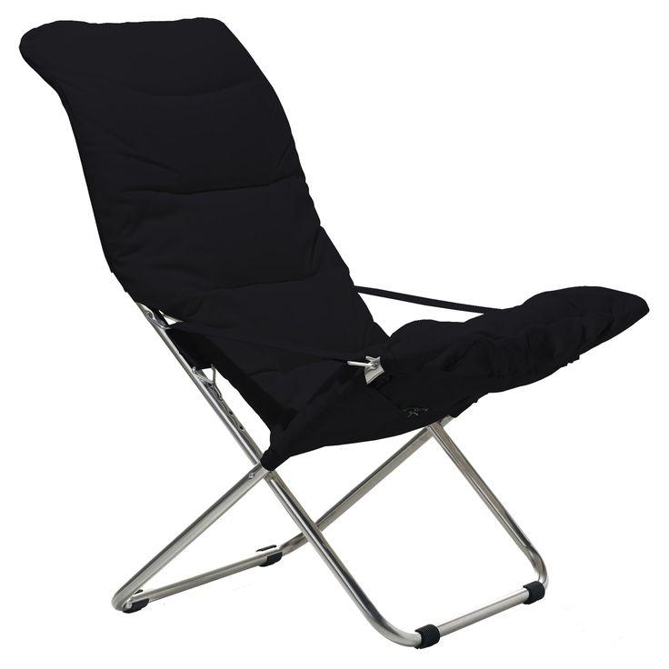 Fiesta Soft solstol, svart i gruppen Rom / Utendørs / Utendørsmøbler hos ROOM21.no (1025402)