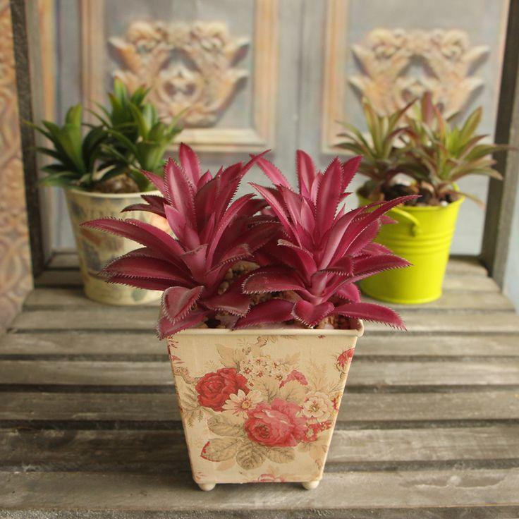 Красочные Растения Сочные Травы Искусственные Растения Пейзаж Поддельные Букетов Домашнего Декора купить на AliExpress