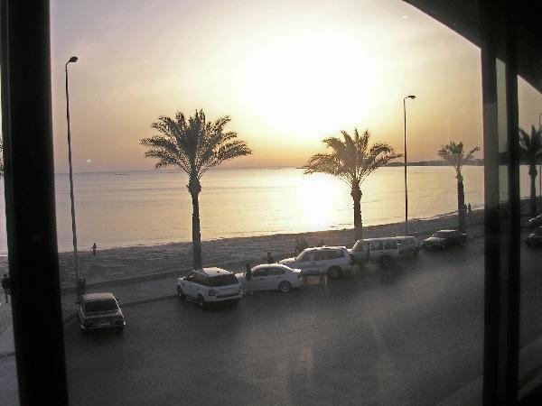 View from Shawatina restaraunt, Tyre Lebanon