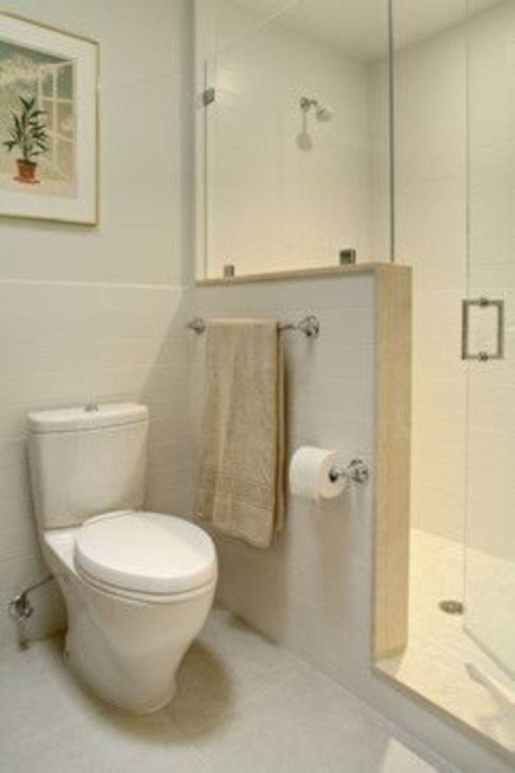 40 moderne kleine Badezimmerdekor-Ideen auf einem Etat