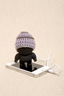 Black Audiobot Speaker. how cute <3