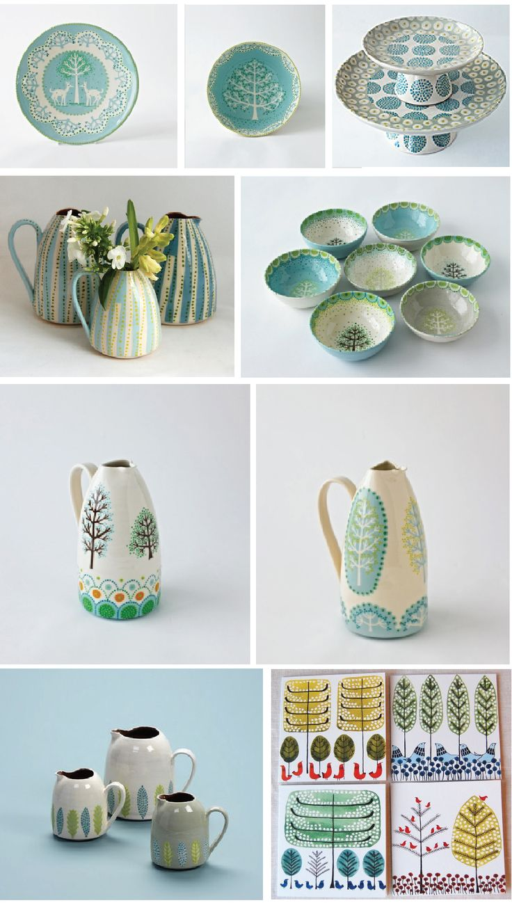 ceramic collection unifying design aspect