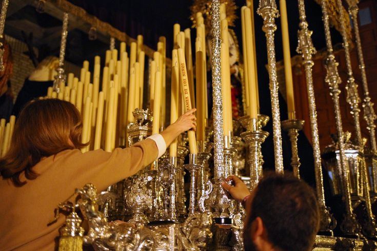 El paso de la Virgen de la O llevará dos velas votivas