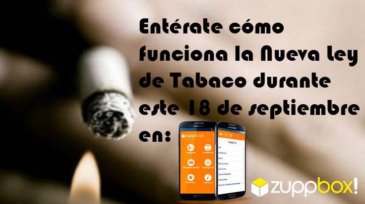 Nueva Ley de Tabaco