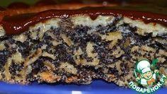 Хрустящий маковый пирог с овсяными хлопьями Увидела его поздно вечером и понеслась печь в ночи ))) Для любителей маковой выпечки - очень хрустящий, очень рассыпчатый, очень маковый и очень простой )) Источник: http://www.povarenok.ru/recipes/show/89357/