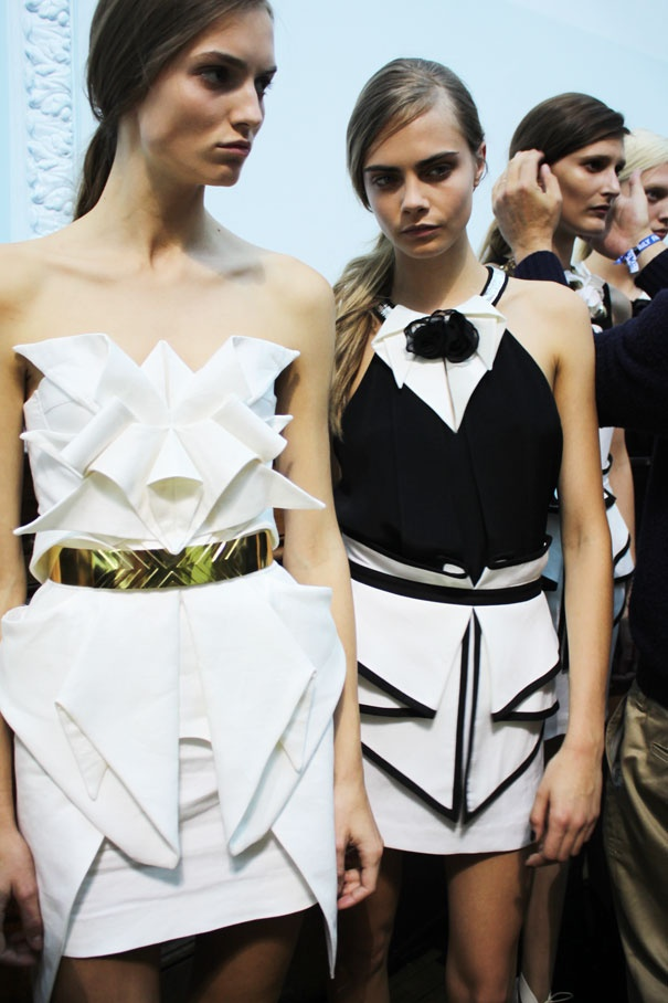 #fashion #models #backstage
