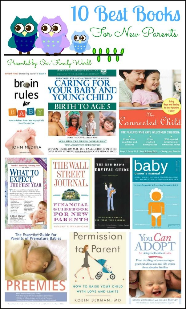 10 Best Parenting Books for New Parents | OurFamilyWorld.com