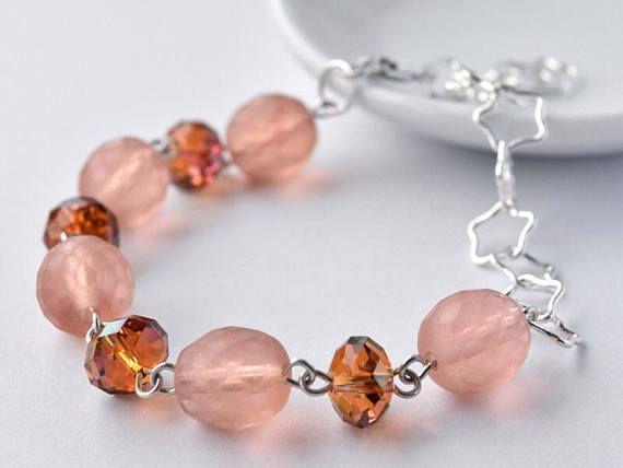 Bracelet  Sterling Silver  Gift for Her  Bead Bracelet #bracelet #sterlingsilver #giftforher #starbracelet #beadbracelet
