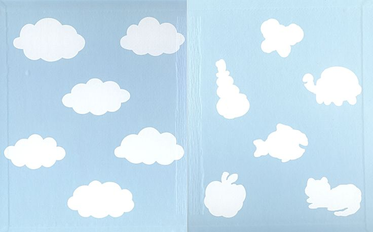 Cloud boy - why clouds have different shapes - the world of shapes, big and small and fluffy