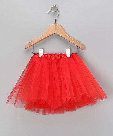 Red Tutu - Toddler & Girls by Hair Bows Unlimited from the #zulily TV commercial available now!