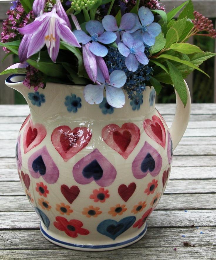 Emma Bridgewater Hearts & Flowers 1.5 pint jug