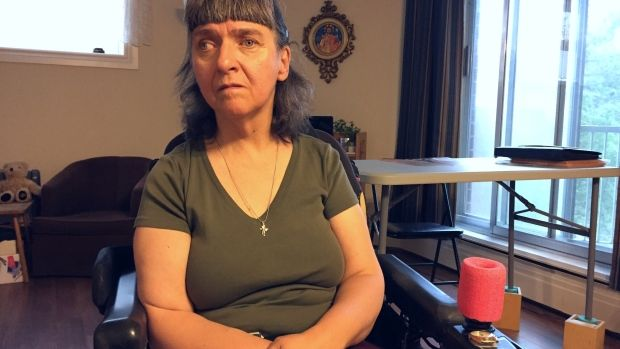 Gerrianne Hull said she is behind on paying the staff that look after her because the health authority denied her request for more money.