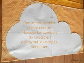 fabriquer un coussin nuage