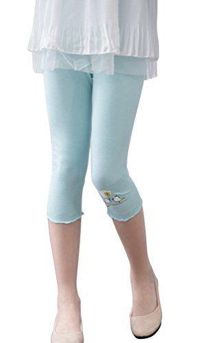 12c40d990c9bd SportsWell Sweet Toddler Girls Flower Cropped Legging Capris Tights Pants